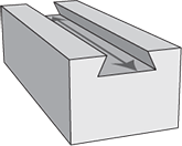 dovetail cross section